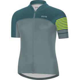 GORE WEAR C5 Maillot Mujer, Nordic Blue/Dark Nordic Blue